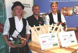 Innungssieger und Kammersieger von Maag Holzbau